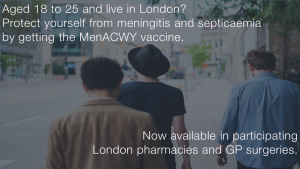 MenACWY London Infographic